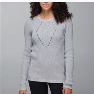 Lululemon • The Sweater the Better in Heathered